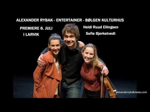 Alexander Rybak Interview about Entertainer on NRK radio 08.06.2016