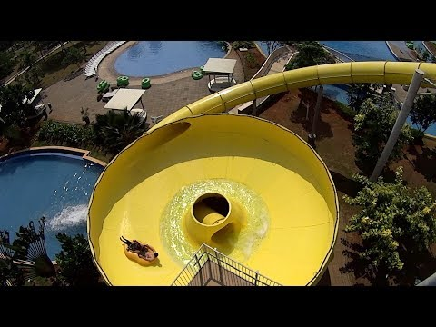 Spin Water Slide at Go! Wet Waterpark