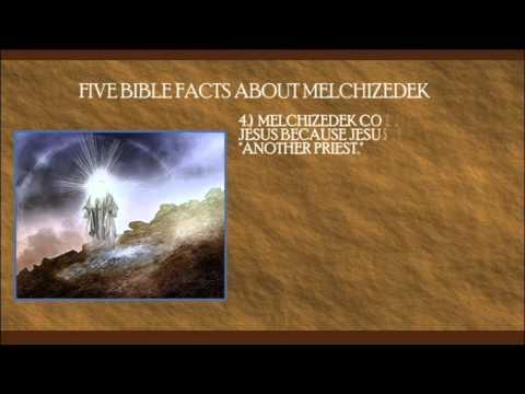 Who Was Melchizedek?