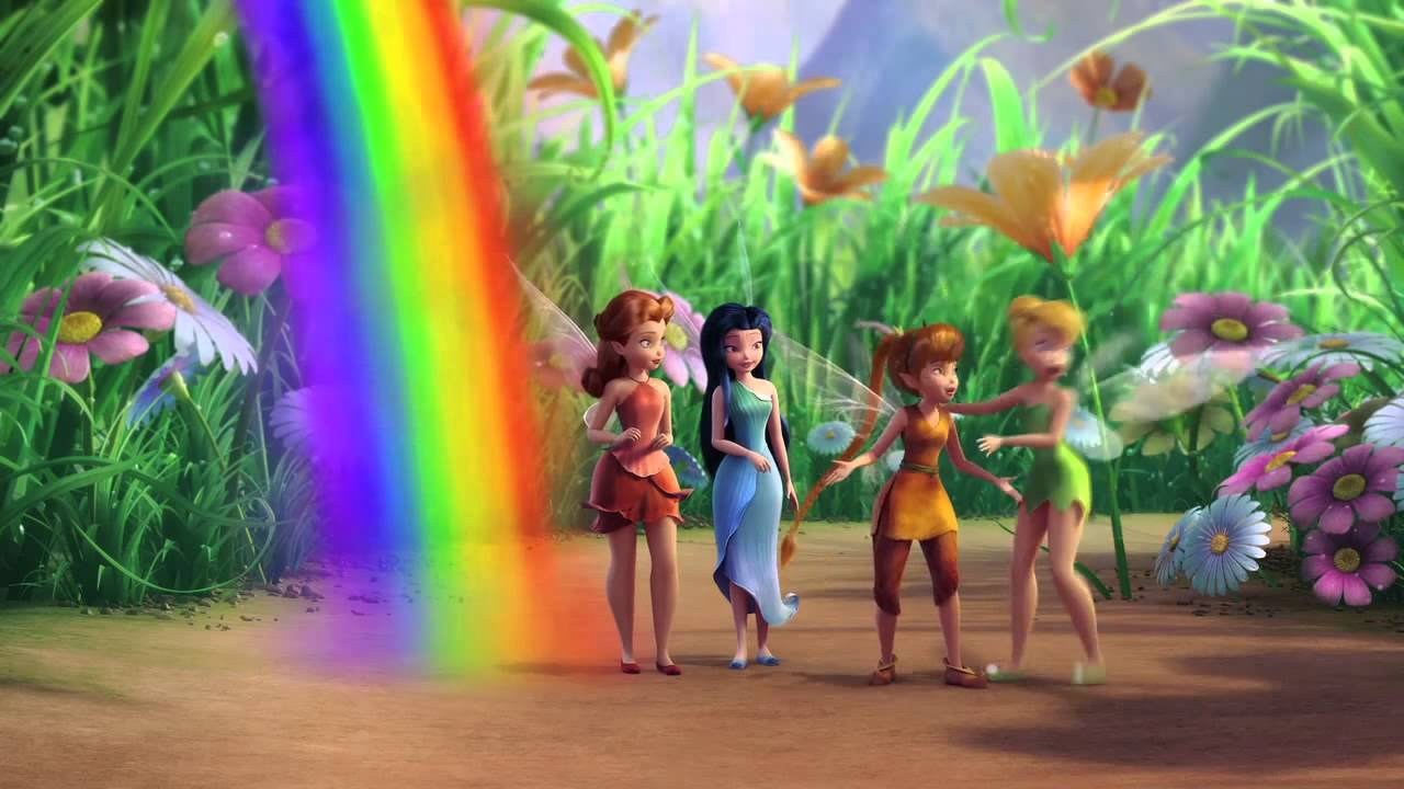 Pixie Hollow Preview - Rainbow's End - YouTube