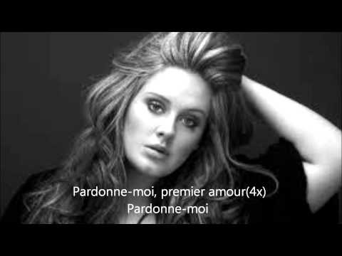 Adele first love traduction francais