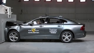 2017 Volvo S90 Crash Test