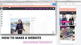 HOW TO MAKE A WEBSITE FOR BEGINNERS | WIX WEBSITE CREATOR