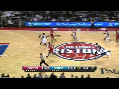 Houston Rockets vs Detroit Pistons Highlights - 2012-13 NBA Season