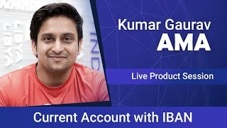 Kumar AMA on Bank account solution by Cashaa for Crypto Business | Feb 2019