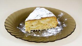 💛Яблочный пирог очень лёгкий рецепт Шарлотка/APPLE PIE