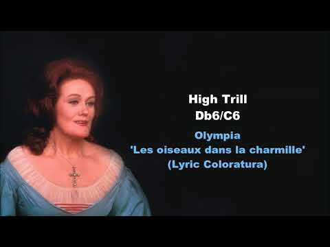 Joan Sutherland Bel Canto Techniques Demonstration
