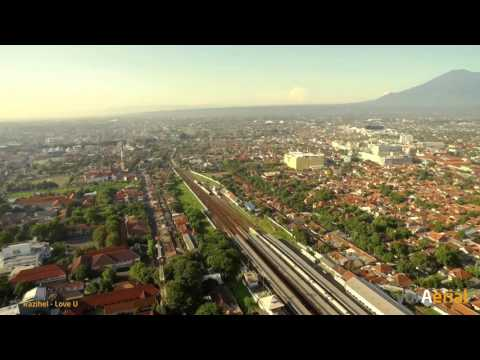 Aerial: Kota Cirebon, Jawa Barat - Indonesia