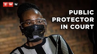 Public Protector Busisiwe Mkhwebane made her second appearance on perjury charges at the Pretoria Magistrates Court on 25 March 2021.      #PublicProtector #BusisiweMkhwebane