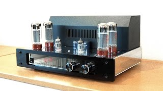 Tube amplifier vs solid state: Dynavox VR-70E II vs Yamaha receiver with Q Acoustics 3020 speakers