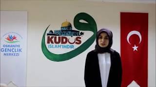 Osmaniye 2018-Temsilci Genç Rümeysa Lökoğlu