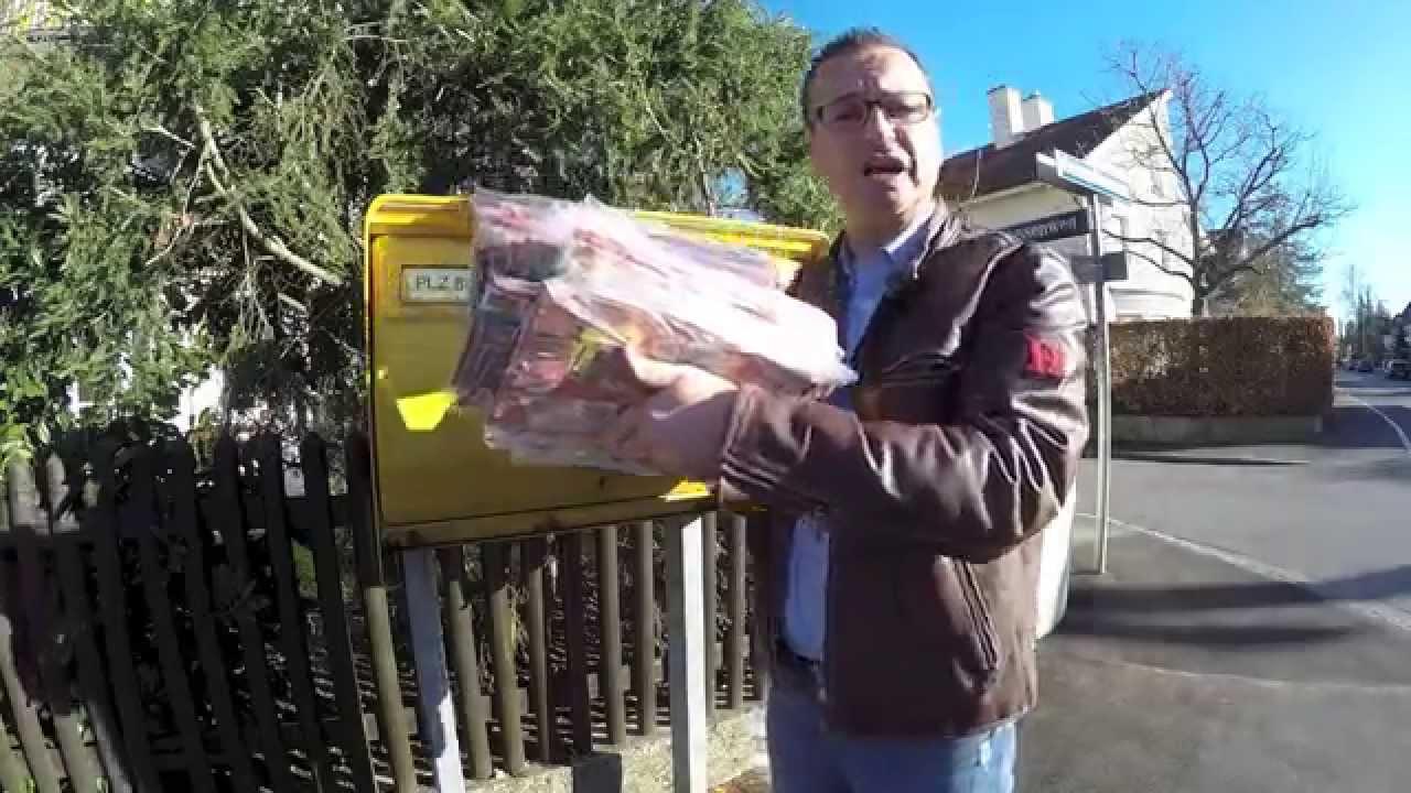 Die Deutsche Sperma Post rollt an