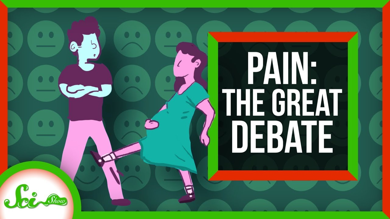 Kicked in the Crotch vs  Childbirth: The Great Debate
