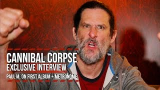 Скачать Cannibal Corpse S Paul Mazurkiewicz On Eaten Back To Life Using A Metronome