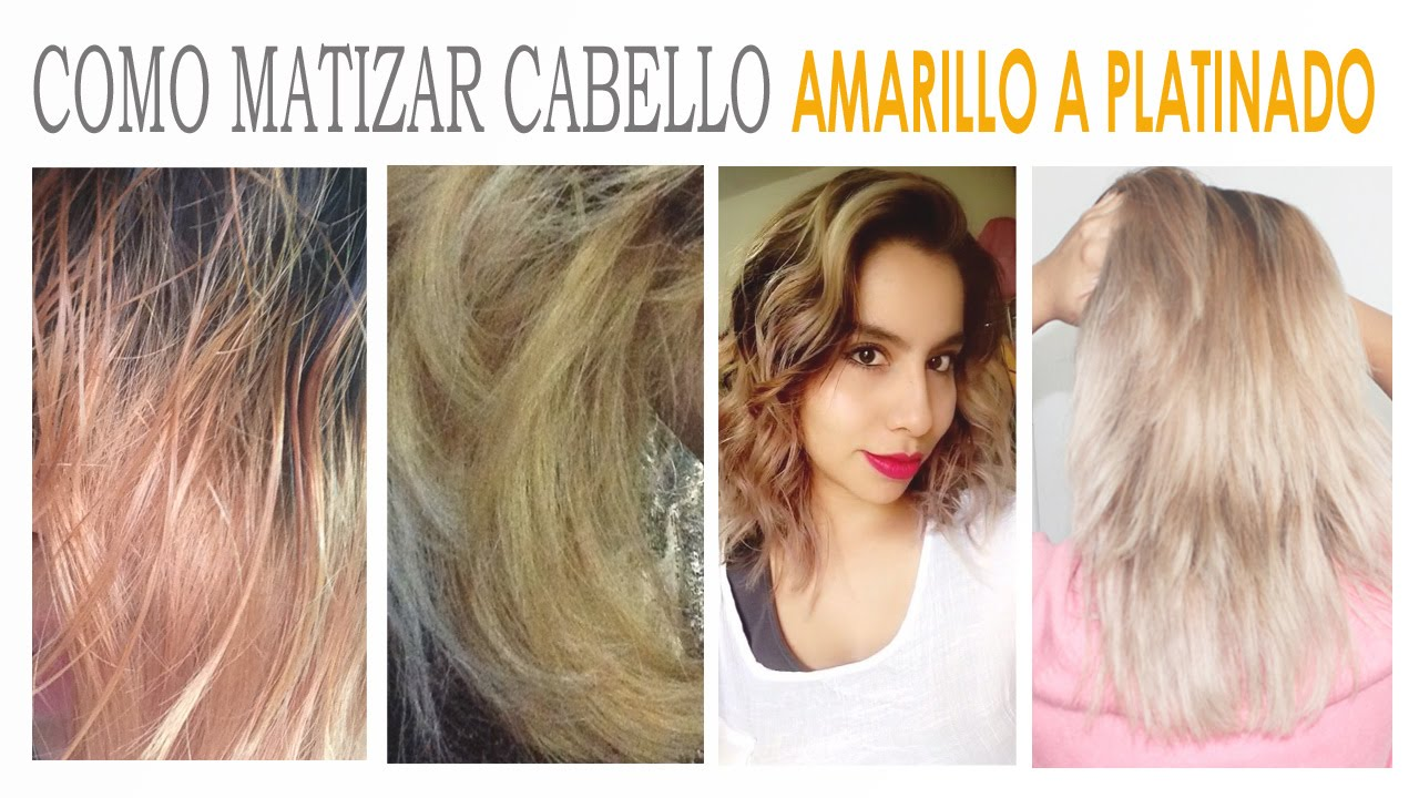 Matizar Cabello Amarillo Tres Trucos Suemylucio Youtube