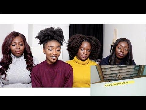 M.ANIFEST FT. KWESI ARTHUR - FEELS (REACTION VIDEO) | JESSICA BENTU