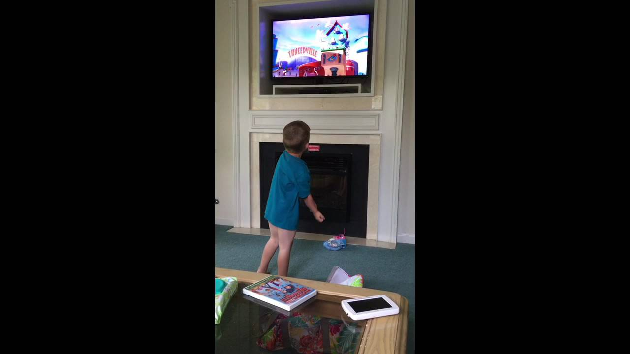 Sean Dancing Singing To The Lorax Movie Greensprings Resort