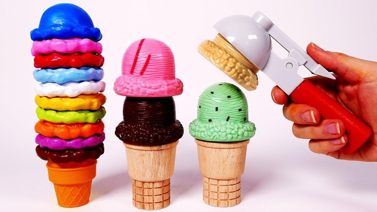 como hacer helado con juego para nios microonda mgico con pelotitas antiestres de slime