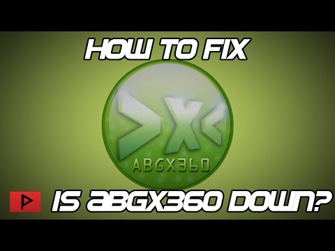 [How To] Fix Abgx360 - Site Down Error Message