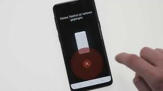 Samsung Galaxy S9: Verwendung von Find my Mobile