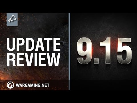 World of Tanks PC - Update review 9.15 - UI Overhaul