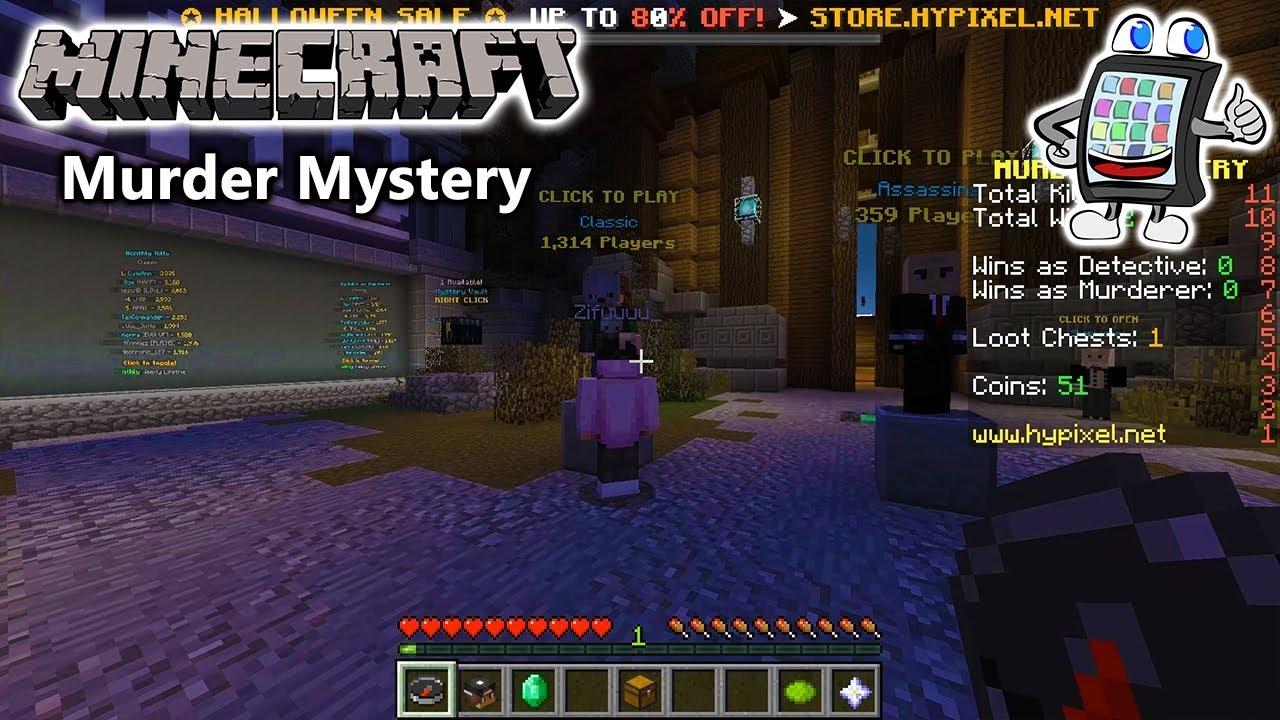 MINECRAFT Murder Mystery Deutsch IM A SURVIVOR ENDLICH GESCHAFFT - Minecraft murderer jetzt spielen