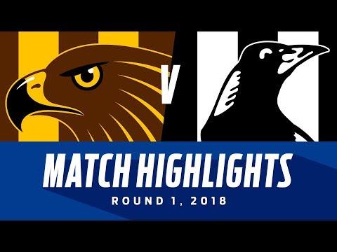 Hawthorn v Collingwood Highlights - Round 1 2018 - AFL
