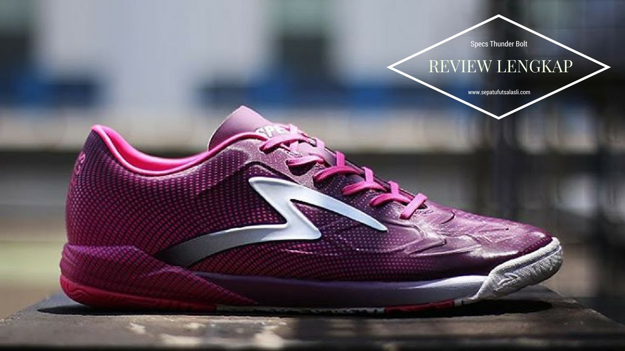 Review Sepatu Futsal Specs Swervo Thunder Bolt Dark