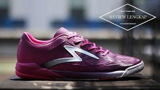 Review Sepatu Futsal Specs Swervo Thunder Bolt Dark Currant