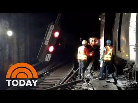NYC Subway Derailment Blamed On 'Human Error' | TODAY