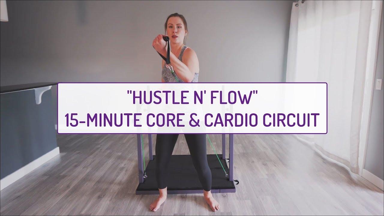 Hustle N' Flow | 15-Minute Core & Cardio Circuit | Evolution Training System