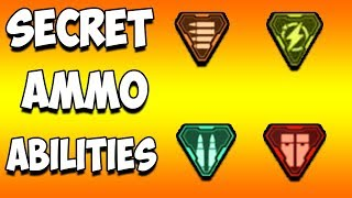 *SECRET* AMMO ABILITIES (Apex Legends)