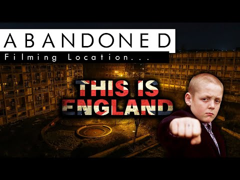 "ABANDONED COMMUNITY | ""This is England"" Film Set + SECURITY!"