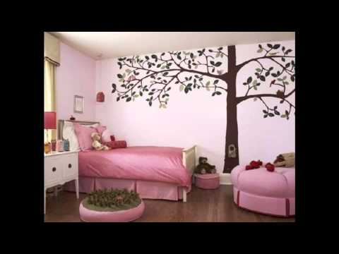 Room Wallpaper decor ideas for girls