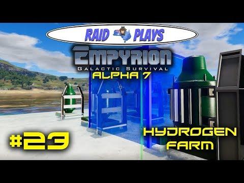 """Let's Play Empyrion Alpha 7 with RaidzeroAU - #23 - """"Hydrogen Farm"""""""