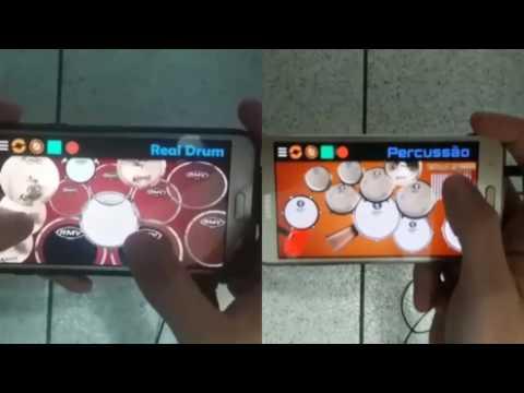 Percussão e Bateria Virtual 🎶Várias novinhas descendo - Léo Santana🎶