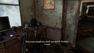 Last of us gameplay  Live ps4