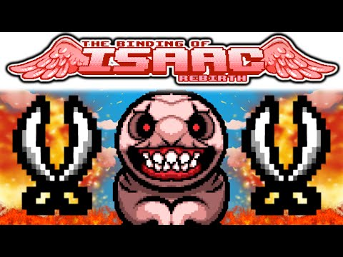 The Binding of Isaac REBIRTH: THE PINKING SHEARS OF DOOM