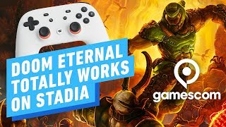 Doom Eternal on Stadia: Hands-on Impression - Gamescom 2019
