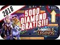 Tutorial Mendapatkan 5000 Diamond Gratis cuma 5 Menit!!! - Mobile Legend trik