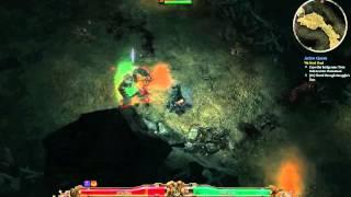 Grim Dawn: unarmed troll farm
