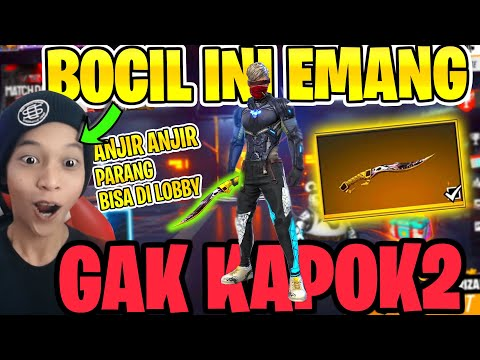 BOCIL BUGBUG SENENG BANGET DAPET PARANG BISA DI BAWA LOBBY! ANJIR ANJIR ANJIR