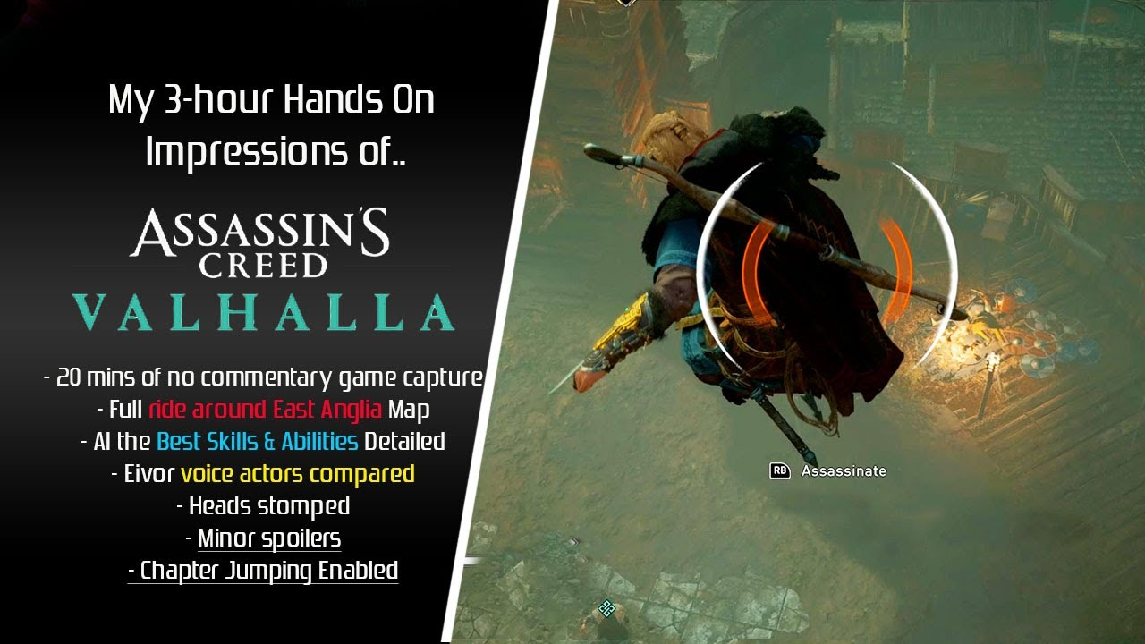 Assassin S Creed Valhalla My 3 Hour Hands On Impressions Youtube