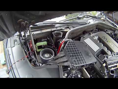 BMW F01 /F02 common blower motor NOISE and the EASY fix to DIY