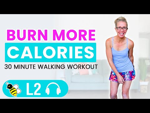 How to Burn More Calories | 30 Minute Indoor Walking Workout