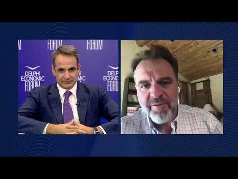 Day 3 - Fireside Chat: Kyriakos Mitsotakis And Niall Ferguson