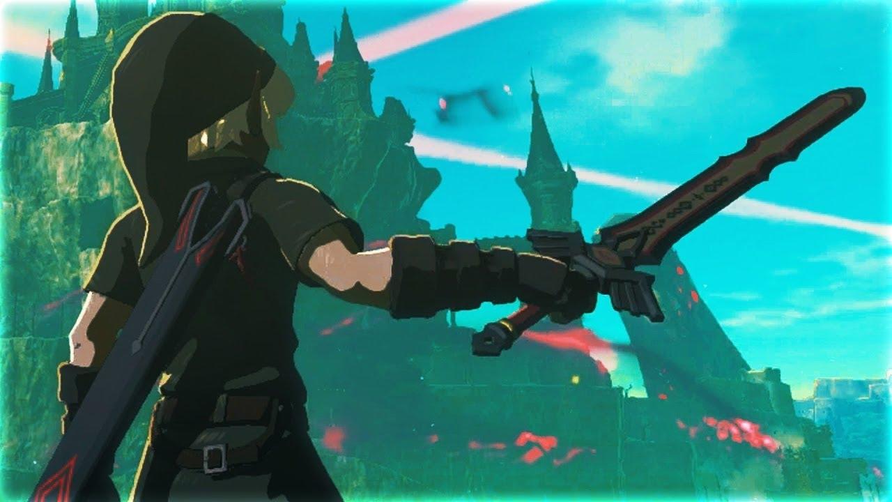 Breath Of The Wild Dark Link >> So bekommt Ihr das Schwarze Masterschwert (Schwarzes Gardeschwert) Zelda Breath of the Wild ...
