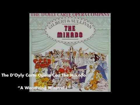 A Wandring Minstrel I - The Mikado