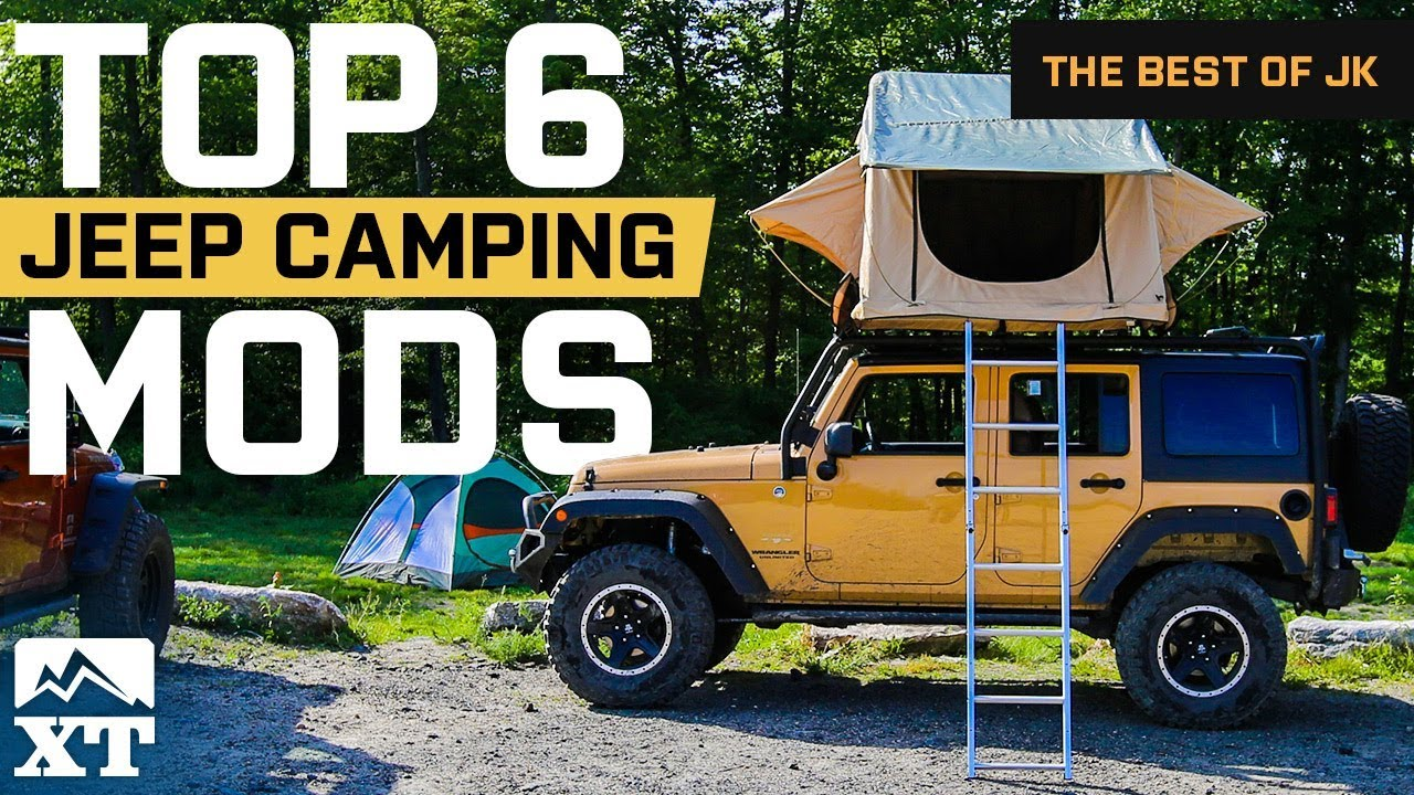 The Best Jeep Wrangler C&ing Mods and Outdoor Gear For Off-Road Adventures : jeep wrangler tent attachment - memphite.com