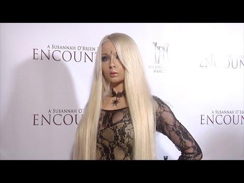 "Real-Life Barbie Doll Valeria Lukyanova ""Encounter"" Los Angeles Premiere"